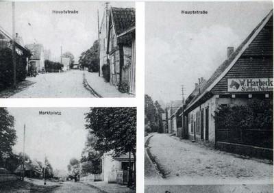 Hauptstraße, Marktplatz und Antener Straße